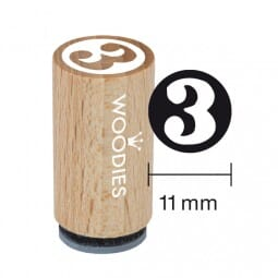 Mini Woodies Stempel - 3