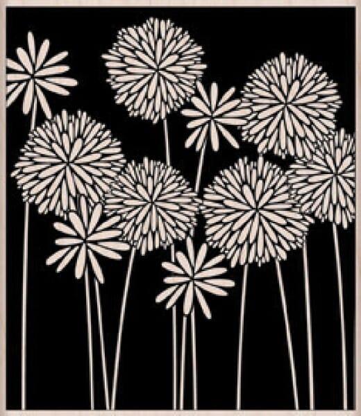 Hero Arts Holzstempel - Blumen