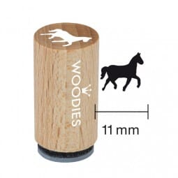Mini Woodies Stempel - Pferd