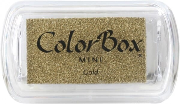 Clearsnap - Colorbox Mini Inkpad Metallics Gold