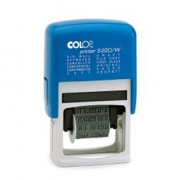 Colop Printer S 220/W (25x4 mm) Englisch
