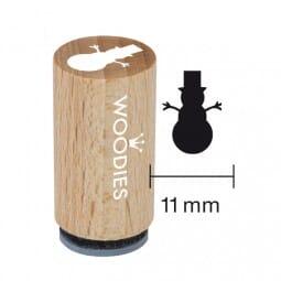 Mini Woodies Stempel - Schneemann 2
