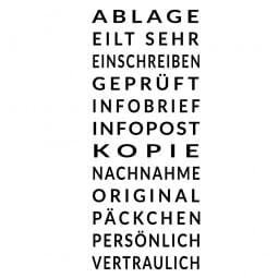 Colop Printer S 220/W (25x4 mm) Deutsch