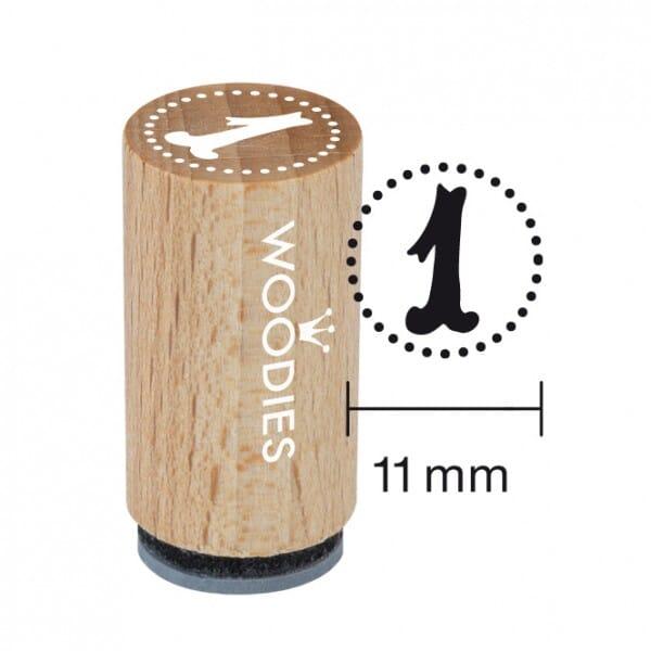 Mini Woodies Stempel - 1