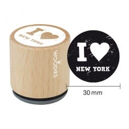 Woodies Stempel - I Love New York