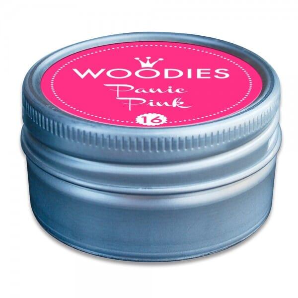 Woodies Stempelkissen - Panic Pink neon