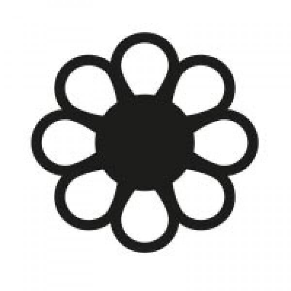 Stemplino Ministempel Blüte