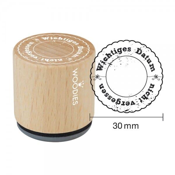 Woodies Stempel - Wichtiges Datum