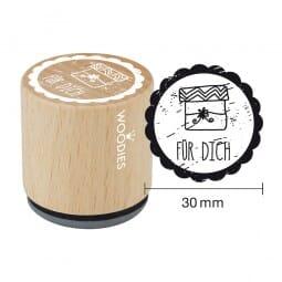 Woodies Stempel - Für Dich 2