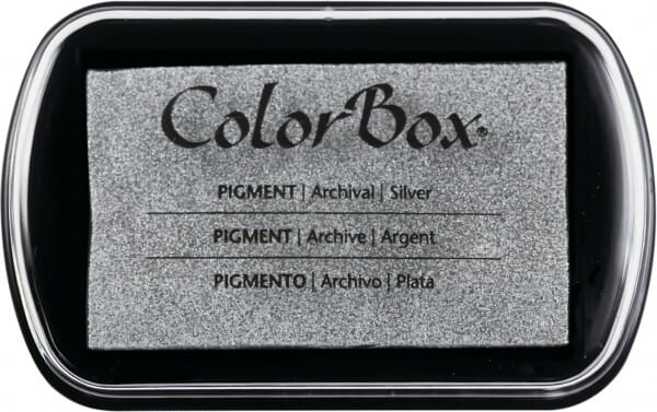 Clearsnap Colorbox - Silber metallic Stempelkissen