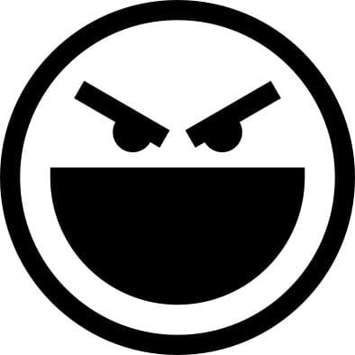 Perma Stempel Holzstempel - Smile 3009