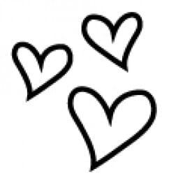 Stemplino Ministempel Kleine Herzen