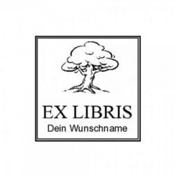 Ex Libris / Buchstempel Trodat Printy 4924 40x40 mm