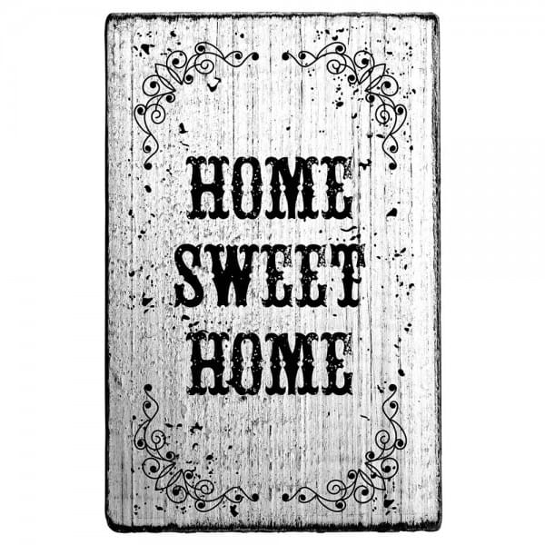 Vintage Stamp Home sweet home