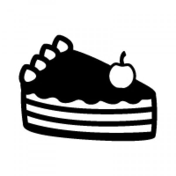 Stemplino Ministempel Kuchen