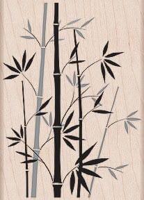 Hero Arts Holzstempel - Bambus