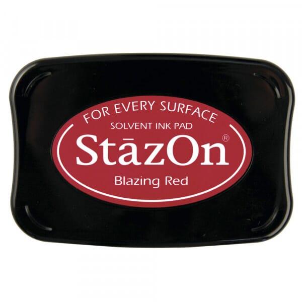 Tsukineko - Blazing Red Stazon Stempelkissen