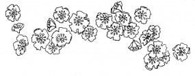 Penny Black Holzstempel - Flower Fantasy