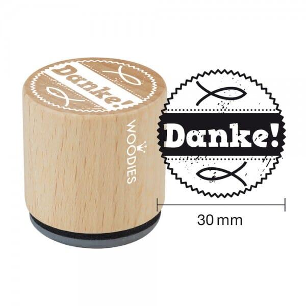 Woodies Stempel - Danke