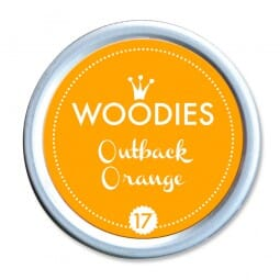 Woodies Stempelkissen - Outback Orange
