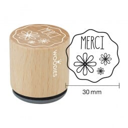 Woodies Stempel - Merci