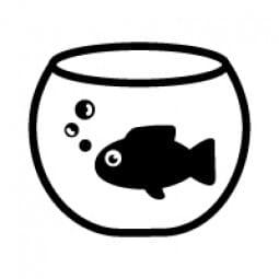 Stemplino Ministempel Goldfisch