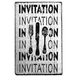 Vintage Stamp Invitation Invitation