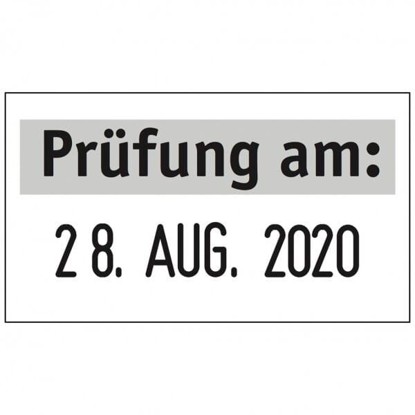 Trodat Printy Datumstempel 4850 - 25 x 5 mm - 1 Zeile