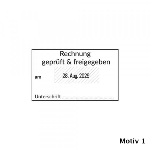 Kontierung- Buchhaltung Trodat Professional 5460 (56x33mm)