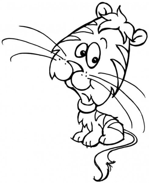 Stampendous Holzstempel - Tiger