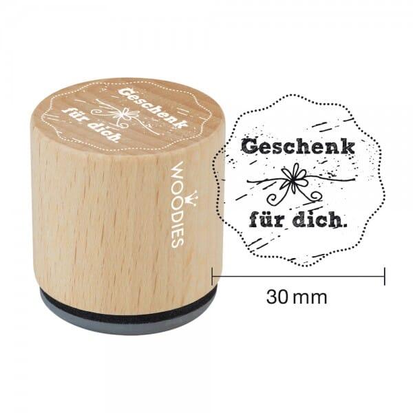 Woodies Stempel - Geschenk für Dich