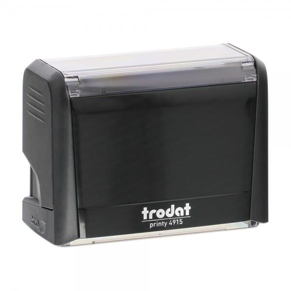 Trodat Printy 4915 - Textstempel - 70 x 25 mm - 6 Zeilen