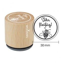 Woodies Stempel - Sehr fleissig!