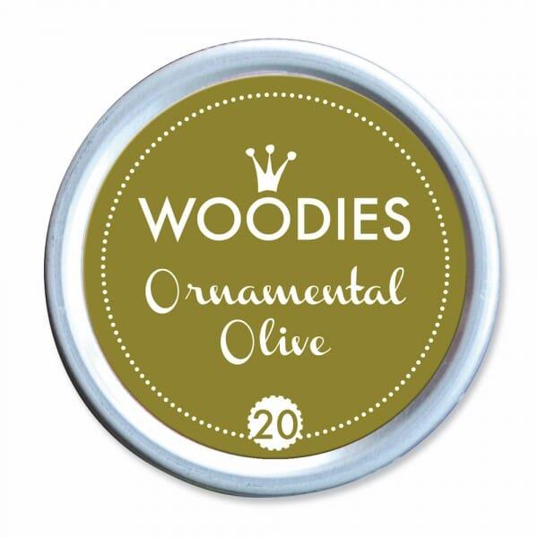 Woodies Stempelkissen - Ornamental Olive