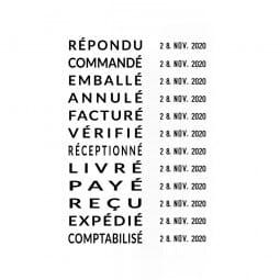 Trodat Professional Datumstempel 5117 mit Wortband Französisch