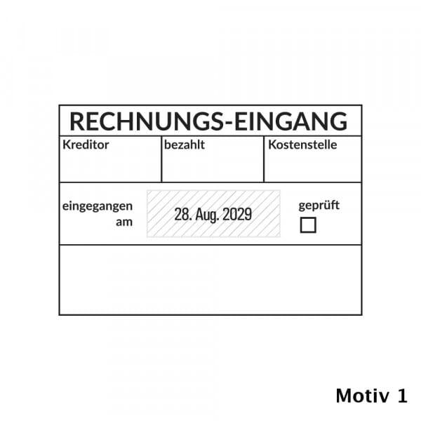 Kontierung- Buchhaltung Trodat Professional 5480 (68x47 mm)