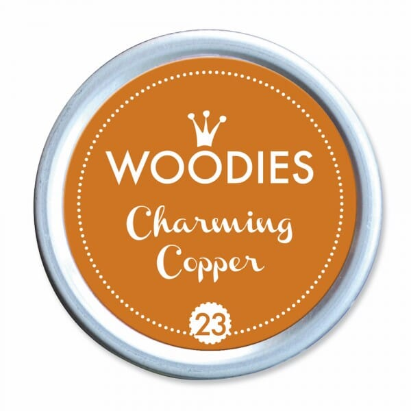 Woodies Stempelkissen - Charming Copper