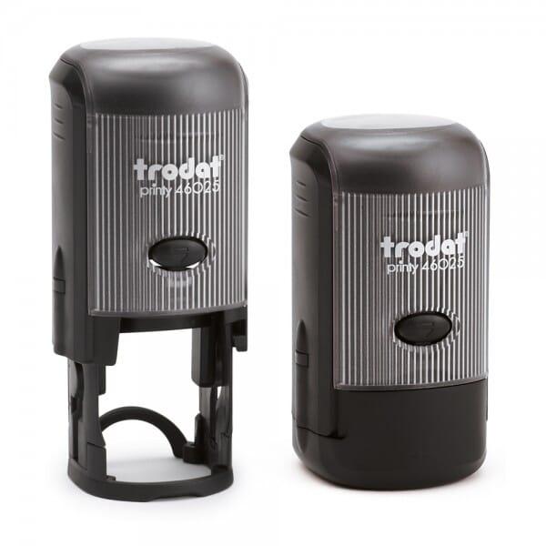 Trodat Printy rond 46025 - diam. 25mm - 5 lignes