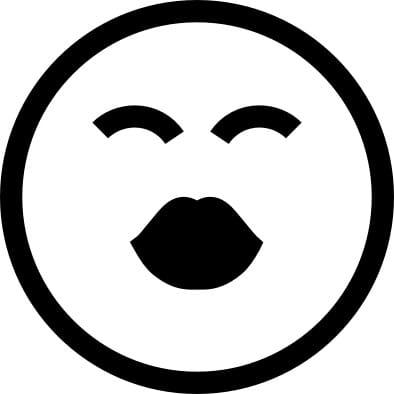 Perma Stempel Holzstempel - Smile 3001