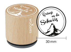 Woodies Stempel - Grüezi us de Schwiiz