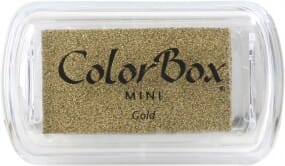 Clearsnap - Colorbox Mini Inkpad Metallics Gold