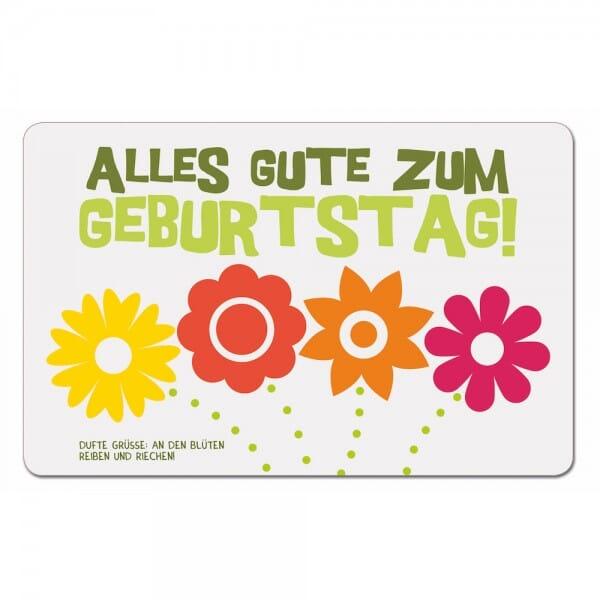 Duftpostkarten - Alles Gute zum Geburtstag