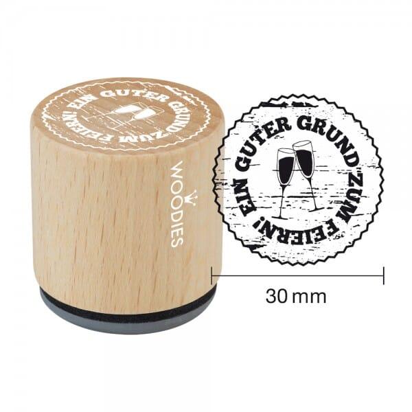 Woodies Stempel - Guter Grund zum Feiern 2