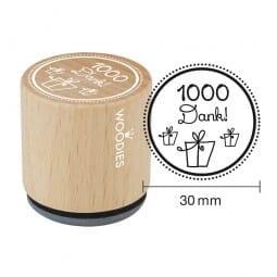Woodies Stempel - 1000 Dank