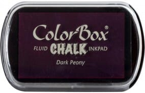 Clearsnap Colorbox - Chalk Dark Peony Stempelkissen