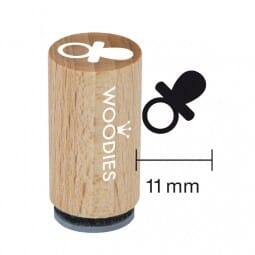 Mini Woodies Stempel - Schnuller