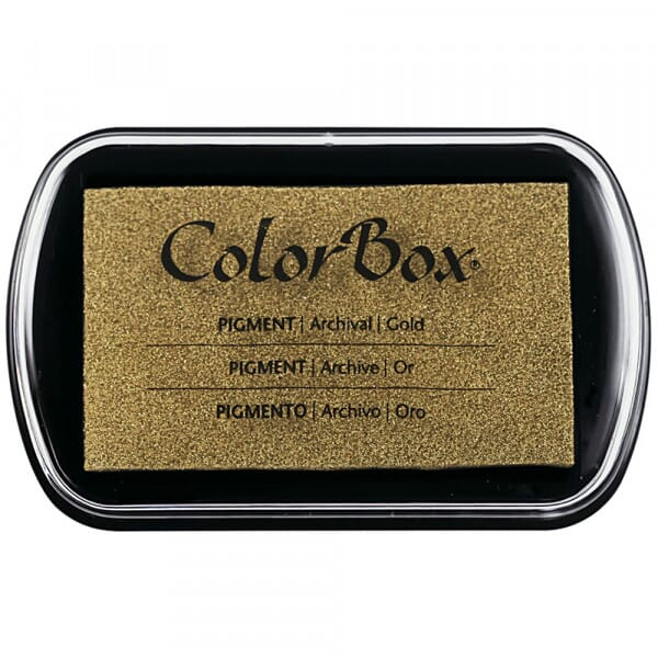 Clearsnap Colorbox - Gold metallic Stempelkissen