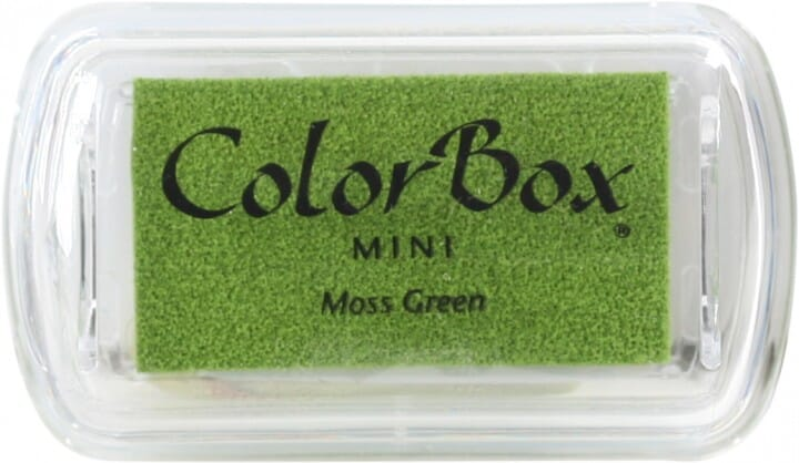 Clearsnap - Colorbox Mini Inkpad Moss Green