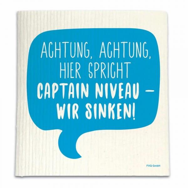 Spüllappen - ACHTUNG, ACHTUNG, HIER SPRICHT CAPTAIN NIVEAU...