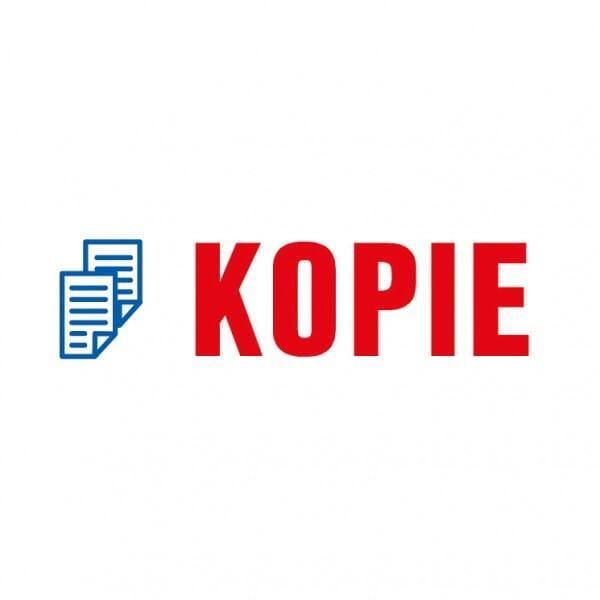 "Trodat Office Printy Textstempel ""Kopie"""